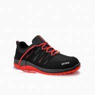 Защитни обувки MADDOX black-red Low ESD S3 Unisex