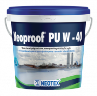 Liquid waterproofing Neoproof PU W 15kg - White