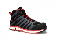 Защитни обувки JORI RAPID black-red Mid ESD S3